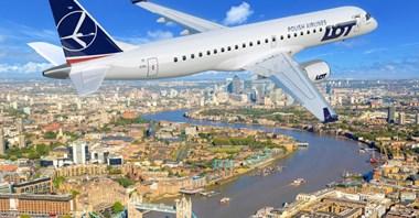 LOT: Krócej i taniej do Londynu