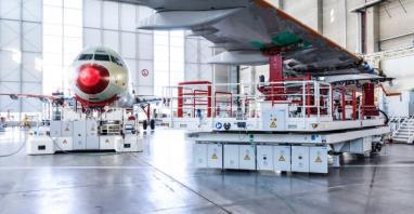 Czwarta linia produkcyjna samolotów A320 uruchomiona w Hamburgu