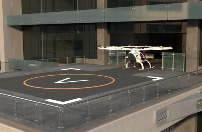 Volocopter: Takie będą powietrzne taksówki? [WIZUALIZACJA]