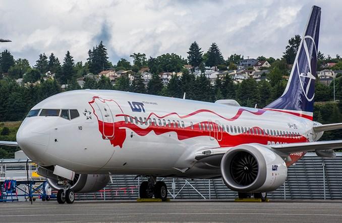 Drugi biało-czerwony samolot LOT-u, Boeing 737 MAX 8, już wykonuje regularne rejsy