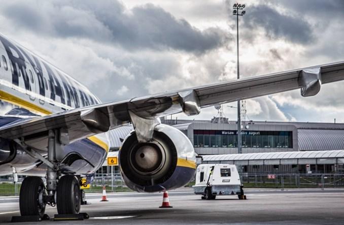 Rekordowy rozkład lotów Ryanaira z portu w Modlinie. Siedem nowych tras