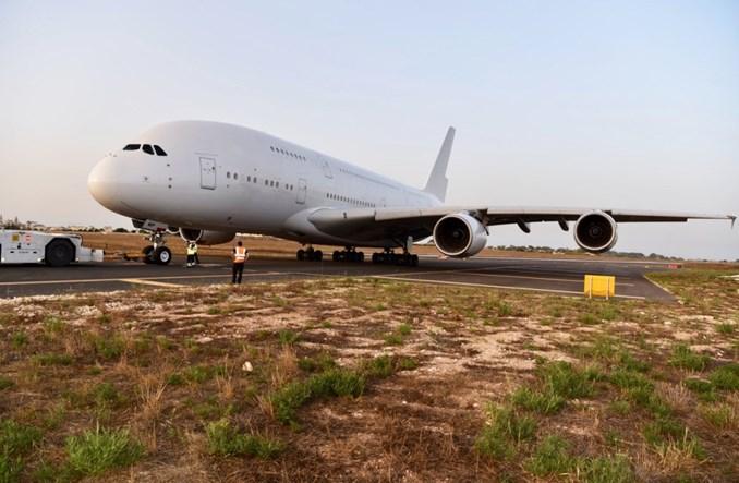 Hi Fly z ex-singapurskim Airbusem A380