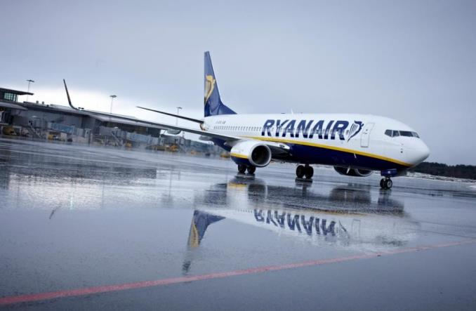 Ryanair lata na Ukrainę