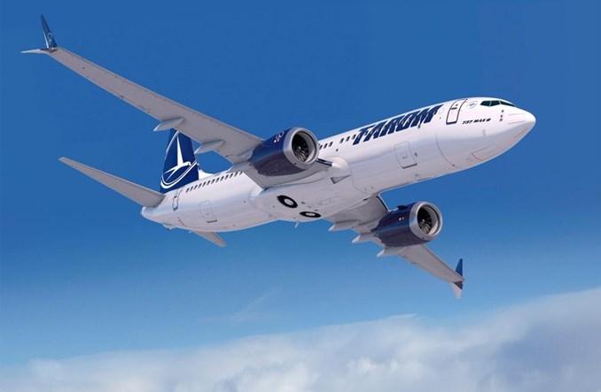 Rumuńskie linie Tarom zamawiają 5 Boeingów 737 MAX 8