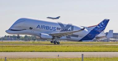 Beluga XL po raz pierwszy wzbiła się w powietrze! (ZDJĘCIA)