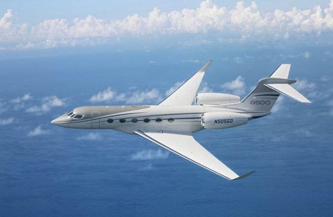 Gulfstream G500 pobił kolejne rekordy i odwiedził pół świata