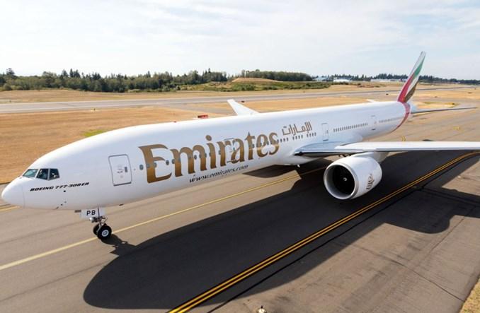 Emirates: Pięć dodatkowych lotów tygodniowo do Amsterdamu