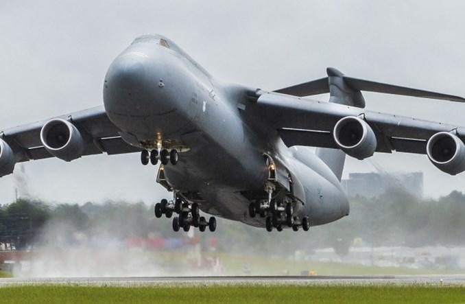 Lockheed Martin zmodernizował 52 samoloty C-5M Super Galaxy