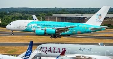 Debiut Airbusa A380 linii Hi Fly
