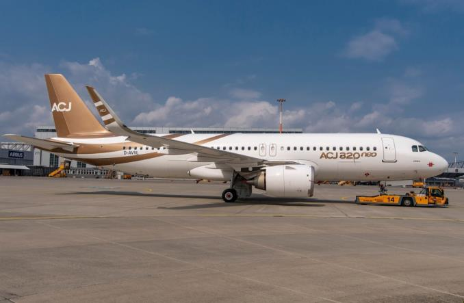 Pierwszy Airbus ACJ320neo już po montażu końcowym