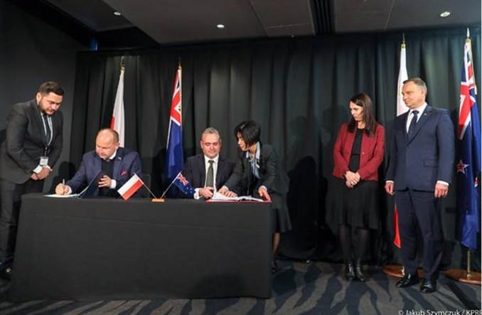 Polska i Nowa Zelandia podpisały umowę o komunikacji lotniczej