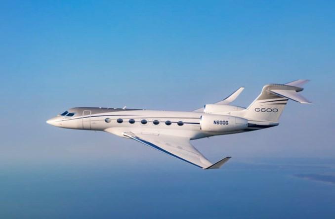 Gulfstream G600 z certyfikatem FAA