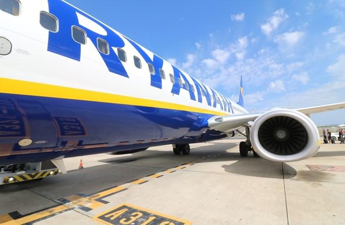 Ryanair: Wyniki przewozowe za maj