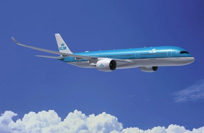 KLM: Airbusy A350-900XWB dopiero w 2021