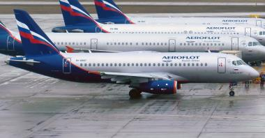 Wyniki przewozowe Grupy Aerofłot