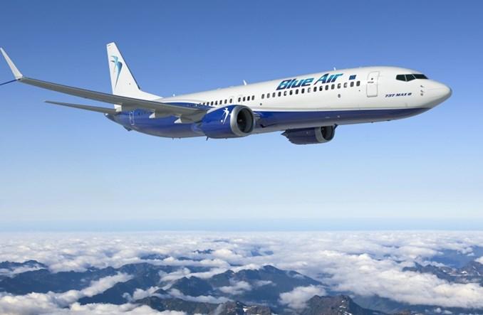 Blue Air doda zimą 49 rejsów w tygodniu do siedmiu miast Europy