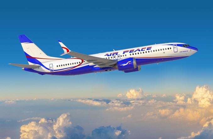 Air Peace zamawia 10 B737 MAX 8