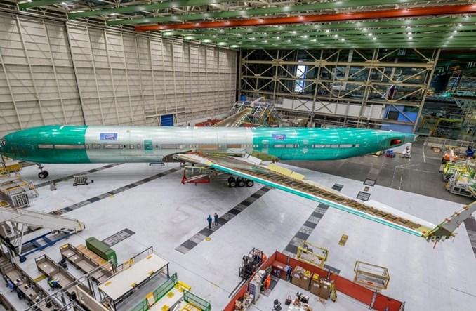 Po incydencie Boeing zawiesza próby ładunkowe 777X