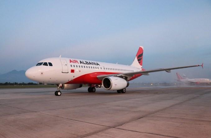 Pierwszy lot Air Albania
