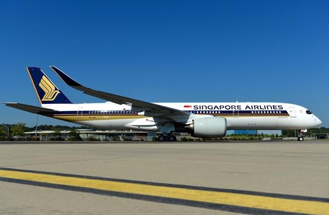Singapore Airlines odebrały pierwszego A350-900ULR