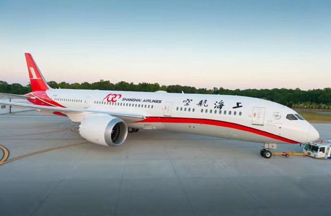 Shanghai Airlines odebrały pierwszego Dreamlinera