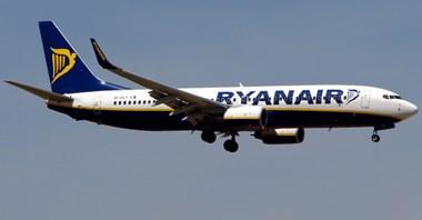 Ryanair znosi opłatę za zmianę rezerwacji lotu w październiku i listopadzie
