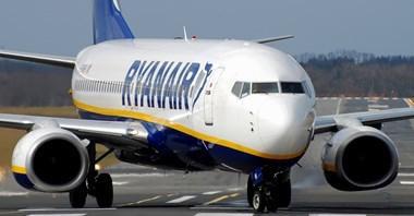Ryanair odnotowuje spory spadek finansowy za pierwsze półrocze