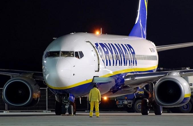 Ryanair: Wyniki przewozowe za czerwiec