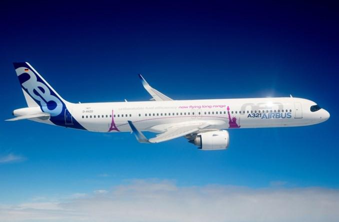 Airbus A321neo Long Range z certyfikatem typu