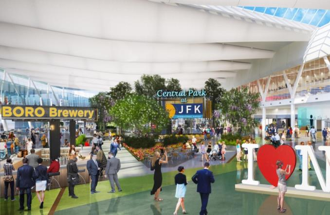 Nowy Jork przedstawia plan przebudowy lotniska JFK (GALERIA)