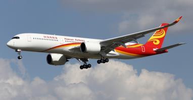 Hainan Airlines powiększa flotę o nowe samoloty Airbus A350