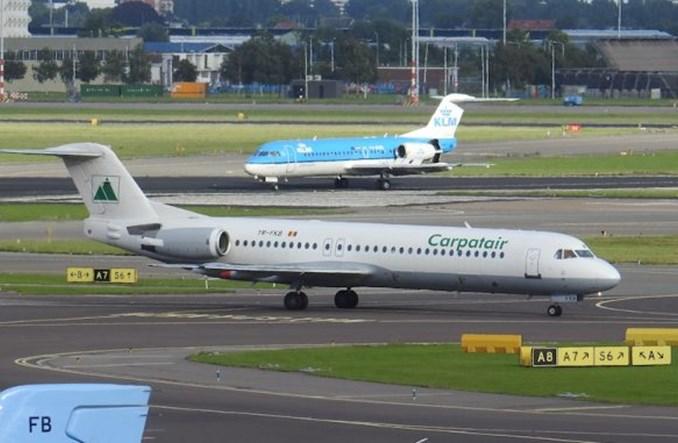 LOT: Fokker w służbie. Przez strajk
