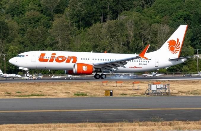 Lion Air chcę renegocjować umowę z Boeingiem na dostawy MAX-ów