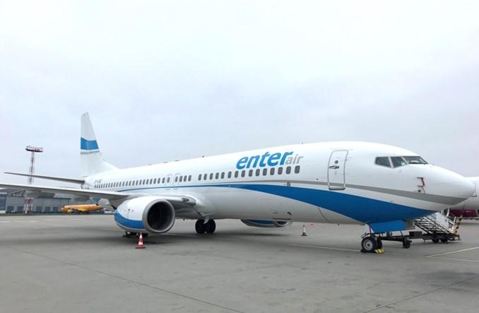 Nowy Boeing 737-800 we flocie Enter Air