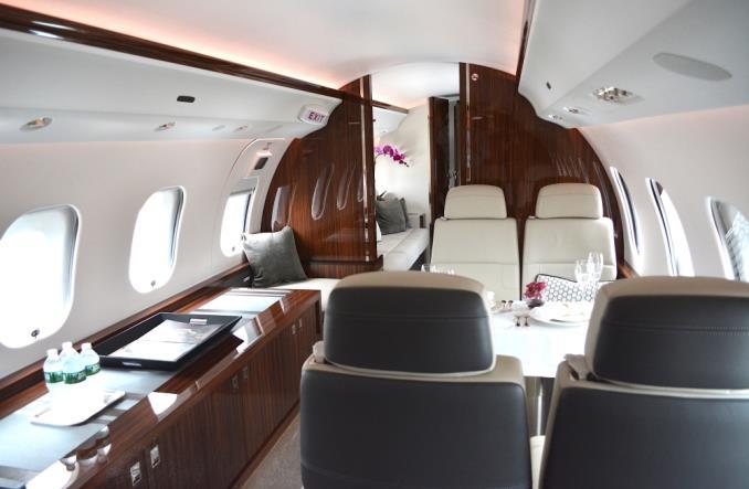 Bombardier Global 7500 z certyfikatem FAA (ZDJĘCIA)
