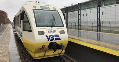 Kijów: Półmilionowy pasażer w pociągu na lotnisko Boryspol