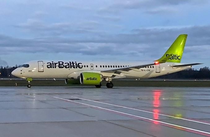airBaltic odebrał kolejnego airbusa A220