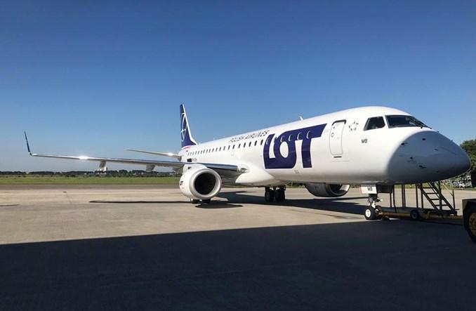 LOT: Embraery 190 lecą do Polski