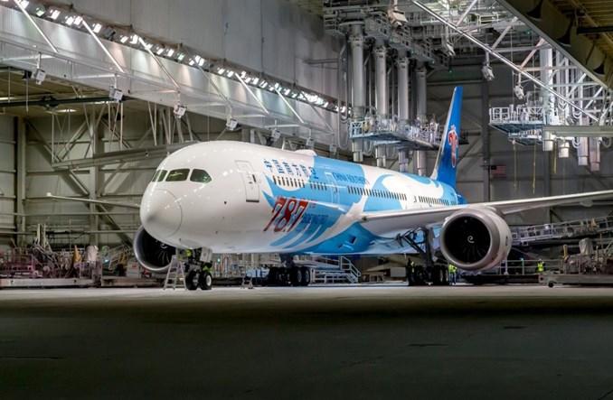 Boeing dostarczył 787. egzemplarz B787 Dreamliner (ZDJĘCIA)
