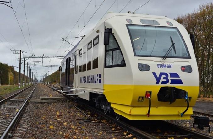 Kijów: Pociąg na lotnisko przez 2,5 tyg. przewiózł 30 tys. pasażerów