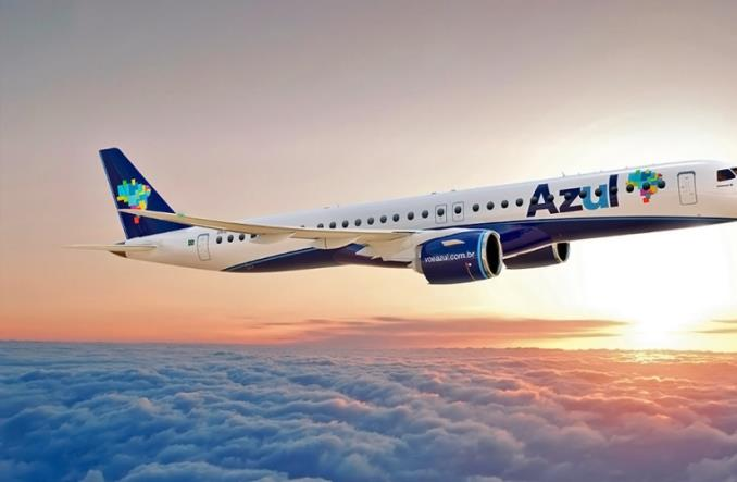 Linia AZUL potwierdza zakup 21 Embraerów 195-E2