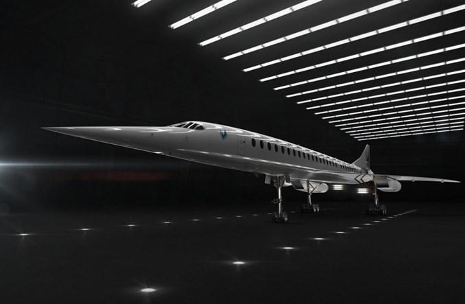 Boom ma kolejne fundusze na budowę następcy Concorde'a