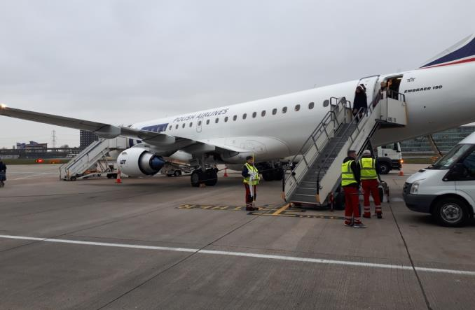 LOT: Inauguracja połączenia Lotniska Chopina z London City