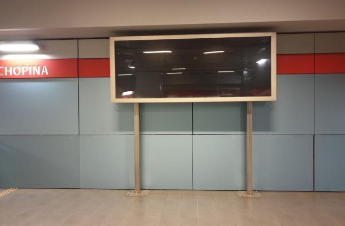 Długotrwała awaria informacji pasażerskiej na stacji Lotnisko Chopina