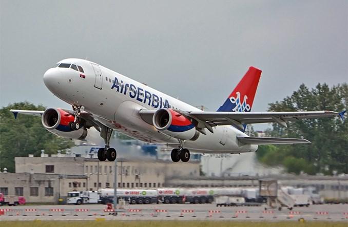 Air Serbia zawiesiła loty do końca kwietnia