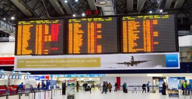 Praskie lotnisko z 9-proc. wzrostem liczby pasażerów w 2018 roku