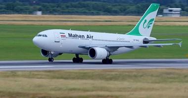Niemcy wprowadziły zakaz lotów irańskich linii lotniczych Mahan Air
