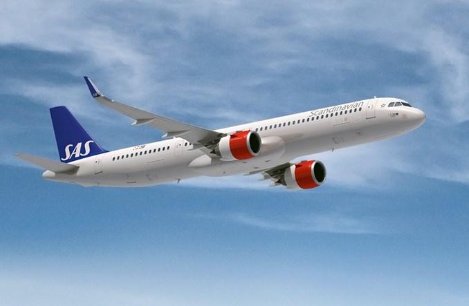 SAS wyleasinguje trzy airbusy A321LR