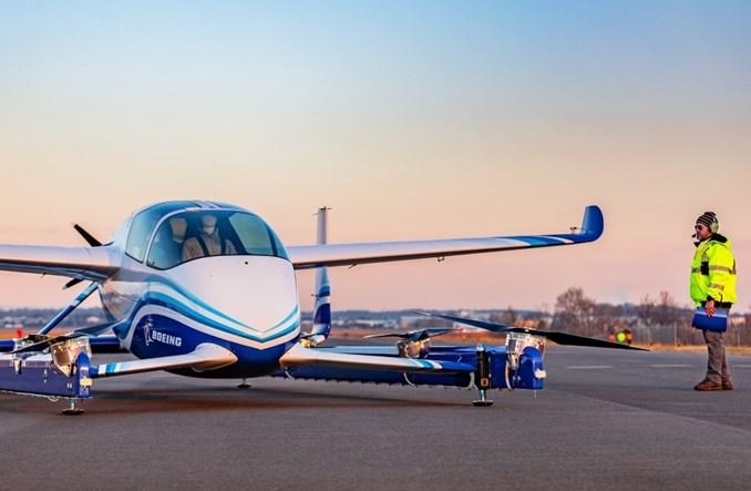 Pasażerski dron Boeinga odbył swój pierwszy lot