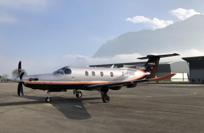Samolot Pilatus będzie latał w leasingu EFL